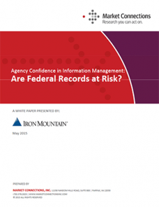 Are Federal Records at Risk? Agency Confidence in Information Management report cover