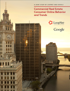 Commercial Real Estate Consumer Online Behavior and Trends report cover